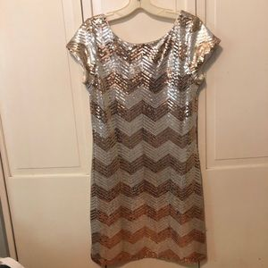 White House Black Market sequin dress